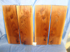 # 6060  4, thin Black Walnut boards sanded lumber craft wood bookmatched