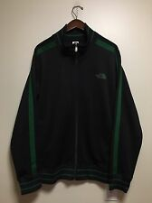 Men's THE NORTH FACE A5 Series Track Jacket XL Black/Green TNF Retro Classic