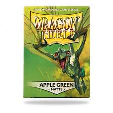 MTG BNIB Dragon Shield Sleeves Matte Apple Green (100) DS100MAG