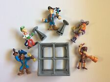 Scooby Doo And Mystery Solving Crew Pirate Poseable Action Figures Set 5 Shaggy