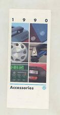 1990 VW Corrado Vanagon Cabriolet GTI Golf Passat Accessories Brochure wv6025