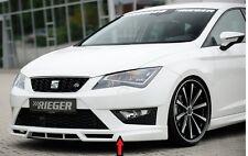 Rieger Frontspoilerlippe für Seat Leon 5F FR incl. Cupra bis Facelift