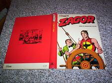 LIBRO CARTONATO I VIAGGI DI ZAGOR 1°EDIZIONE 1981 MONDADORI-CEPIM TIPO TEX MARK