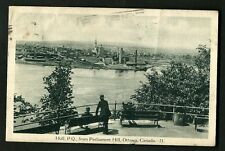 CANADA OLD POSTCARD-USED-1929-HULL-P.Q-FROM PARLIAMENT HILL-OTTAWA.RARE