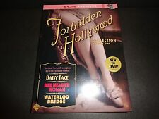 FORBIDDEN HOLLYWOOD COLLECTION Vol 1-Baby Face, Red Headed Woman,Waterloo Bridge