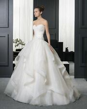 New White Ivory Wedding Dress Bridal Gown Custom Size 6 8 10 12 14 16 18 20+++++