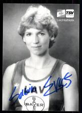 Sabine everts autografiada mapa original firmado atletismo + a 98347
