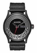 BRAND NEW NIXON WATCH STAR WARS SENTRY WOVEN KYLO BLACK A1067SW 2444 NEW INBOX!