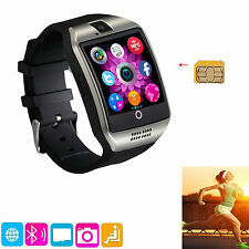 Wireless Bluetooth Smart Watch With Camera For Android Samsung Galaxy Note 3 4 5