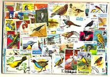Birds on Stamps - 200 Different