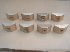 SET OF 8 BRONZE SEGMENT CLAMPS FOR A SNOW VERTICAL SPINDLE GRINDING MACHINE V18