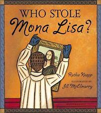 Who Stole Mona Lisa?-ExLibrary