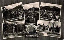 Badenweiler AK 1964 Markgräflerland Schwarzwald Mehrbildkarte Kurhaus Burg Hotel