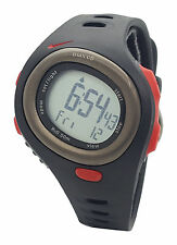Nike Triax HRM C5 SM0015 Black Sport Red Silicone Heart Rate Monitor Watch