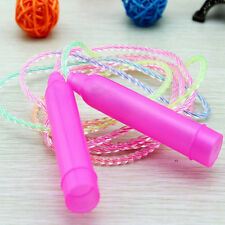 Sports Training Handle Plastic Skipping Jumping Rope for Children Colorful Gym
