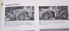 CATERPILLAR 966D & 980C WHEEL LOADERS  OPERATION  MANUAL