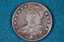 ESTATE FIND 1807 Capped Bust Half Dollar, large stars!! #G0390
