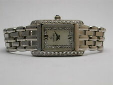 CONCORD 61-25-680 MOP 18K WHITE GOLD QUARTZ DIAMOND BEZEL LADIES WATCH