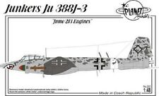 PLANET MODELS PLT222 Junkers Ju388J-3 w/JUMO 213 Engines in 1:48 LIMITED!