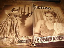 JUNE HAYER - JOAN FONTAINE - Magazine vintage MON FILM N°234 de 1951 !!!