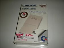 Commodore modem 1200 baud model 1670 new in factory sealed box.