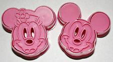 Set di 2 Mickey & Minnie STANTUFFO frese, Sugarcraft, Decorazione Torte