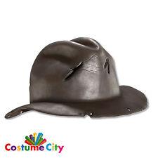 Adulti incubo Sulla Elm Street Freddy Krueger SAGOMATO Cappello Accessorio Costume