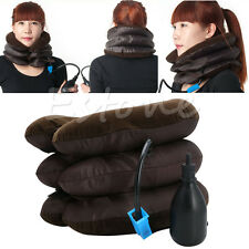 Adjustable Neck Stretcher Pain Relief Shoulder Tension Back Traction Inflatable