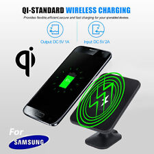 Qi Wireless Charger UK Charging Car Mount Holder for Samsung Galaxy S8 S7 Note 5