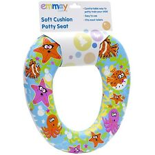 Emmay Soft Cushion Kids Baby Boy Girl Potty Training Toilet Seat Trendy #8071
