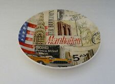 New York City Collectible Salad Plate Cracker Barrel Store Around the World