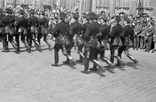 Negativ-1930-Darmstadt-Hessen-Aufmarsch-Standarte 33-uniform-Rhein-Main-Gebiet-4