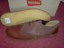 Clarks Original Mens  ** JINK BROGUE ** CHESTNUT COMBI ** UK 6