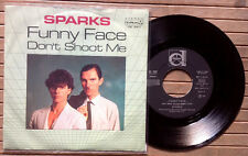 "SPARKS / FUNNY FACE - DON'T SHOOT ME - 7"" (Italy 1981)"