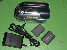 Canon ZR900 ZR900A Digital Mini DV Camcorder - Works Good - Comes w/ Batt & AC