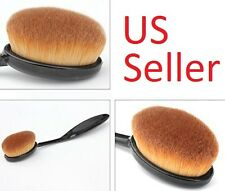 Pro Cosmetic Toothbrush Shaped Power Makeup Foundation Brushes Oval Cream Puff