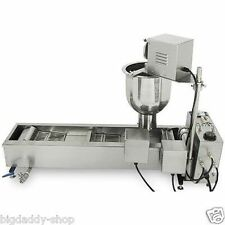 Commercial Automatic Donut Maker Making Machine, Wider Oil Tank, 3 Sets Mold S