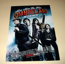 "ZOMBIELAND CAST PP SIGNED PHOTO POSTER 12""X8"" A4 WOODY HARRELSON BILL MURRAY"