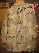 USAF US ARMY DESERT CAMO GORE-TEX PARKA LARGE LONG NEW  AIR FORCE