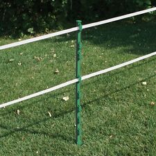 10 X GREEN 3FT POLY POSTS -  90cm 35' Electric Fencing Fence Stakes Pony Sheep