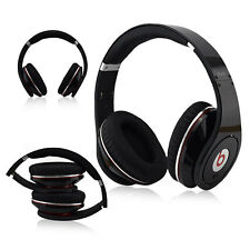 Genuine Original Beats by Dr. Dre Studio Wired Over-Ear Headphones Black