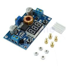 Power Step-down Adjustable Charge Module LED Driver With Red Voltmeter 5A CC/CV