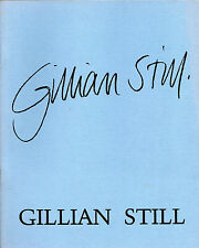 """GILLIAN STILL"" - LLANDEILO-BASED SCULPT0R - CATALOGUE PROMOTING HER WORK (1983)"