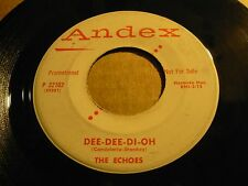 """ECHOES dee dee di oh / time - 7"""" / 45 ( r&b ) - PROMO -"""