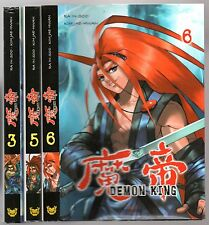 LOT de 3 MANGA DEMON KING n°3-5-6 # RA IN-SOO / KIM JAE-HWAN # TOKEBI
