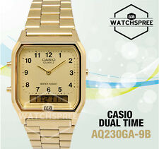Casio Analog Digital Dual Time Watch AQ230GA-9B
