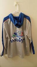 Women's 14W-16W NASCAR Jacket/Full Throttle/Silver w/Hood/NWOT/Racing XLNT COND.