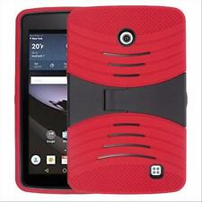 "Red Defender Tough Tablet Case Cover Kickstand Armor Box For 7"" LG G Pad F 7.0"