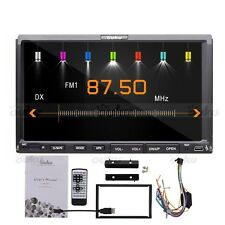 "Auto Car Stereo DVD CD Player 7"" Touch Screen 2 Din In Dash radio USB/SD Mp3 US"