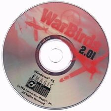 WarBirds 2.01 PC CD ROM Disc Only War Birds Computer Game Free USA Shipping!
